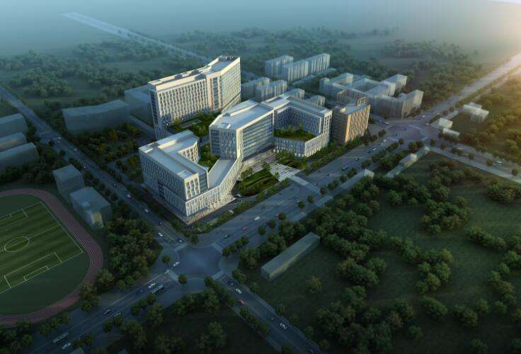 New medical ward building, the first hospital, hebei medical university